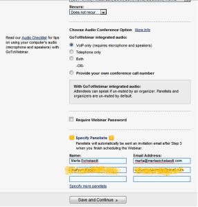 GoToWebinar, test programu do webcastów, tworzenie webinaru
