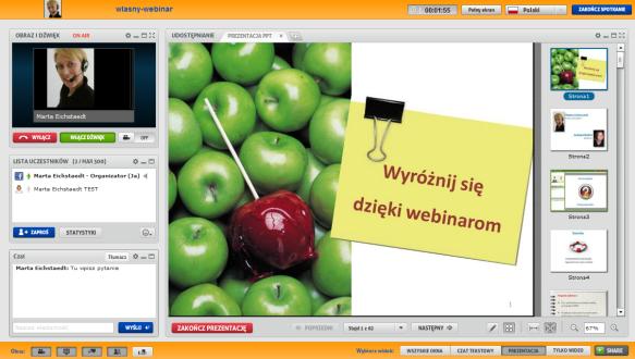 ClickWebinar wirtualny pokój