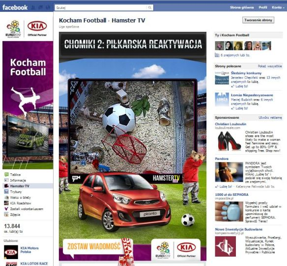 facebook videostreaming kia